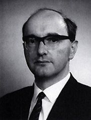 Donald Davies, inventor of the idea of a packet switched network
