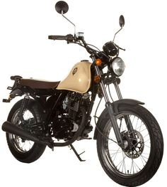SINNIS Motorcycles - Trackstar 125 - Retro city motorcycle