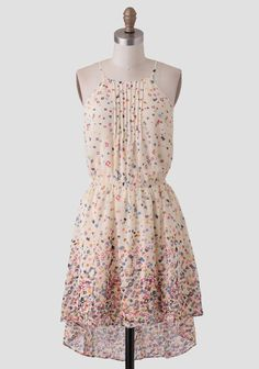Dreamt Of You Printed Dress
