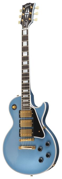 Gibson Les Paul Custom Pelham Blue 3pus - Shared by The Lewis Hamilton Band - https://www.facebook.com/lewishamiltonband/app_2405167945 - www.lewishamiltonmusic.com