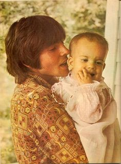 Davy Jones and his daughter