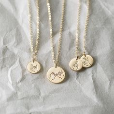 Coolest Necklace of the Year Award (nominated by us).  Choose one - or a few - cheeky hand gestures ...