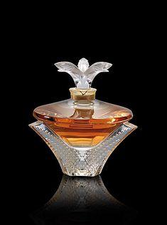 Lalique Perfume De Cristal Lalique Extracto 100ml Serie Limitada 2010 Cascade
