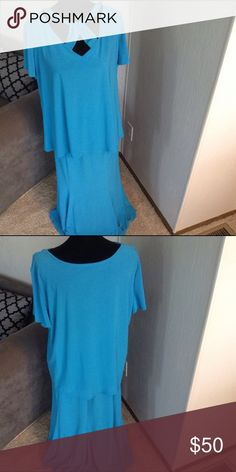 """Top & Skirt Set Top is 26"""" long.  Skirt is 35"""" long. I'm also selling a black ensemble just like this one! ANTTHONY ORIGINAL Dresses Midi"""