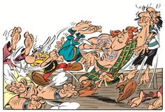 Asterix and the Picts - The first frames