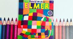 O výnimočnom slonovi menom ELMER - Montessori Kids Kids Crafts, Montessori, Activities, Books, Libros, Book, Book Illustrations, Libri, Baby Crafts