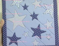 Caixa Estrelas Patchwork Embutido