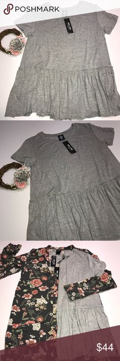A&D Relaxed Ruffle Tee NWT Agnes & Dora Relaxed Ruffle Tee- Small {You can size down or stay tts} My favorite A&D top- the relaxed ruffle is a comfortable, flattering top that comes in many cute patterns!! Unfortunately, it's being discontinued!! 😕 Agnes & Dora Tops