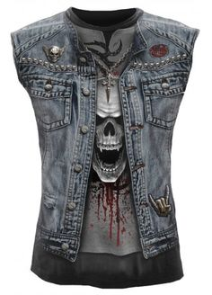 Spiral Direct Thrash Metal Sleeveless T-Shirt, £16.99