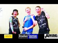 Asking Alexandria Interview #4 Ben Bruce & James Cassells 2013