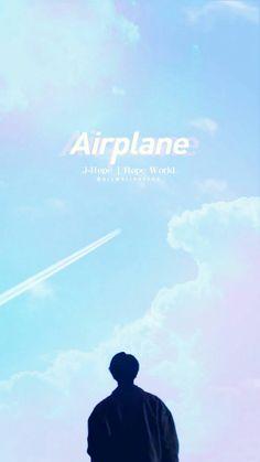 BTS Jhope Airplane wallpaper | lockscreen  BTS Jhope Airplane papel de parede e tela de bloqueio