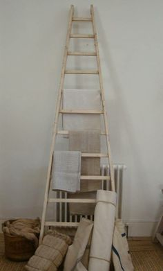 Old French ladder in Decorative from Appley Hoare Antiques http://www.appleyhoare.com