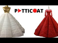 petticoat wedding dresses 2019 - shop now - YouTube Fashion Tv, Fashion Videos, Fashion Sewing, Fashion Show, Shirt Design For Girls, Bridal Shrug, Corset Pattern, Frill Dress, Costume