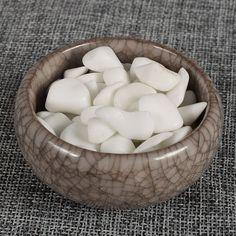 Extra 10Gram Free 100 Gram Natural White jade Mineral Crystal Beads Tumbled  stone Home Fountain Decor  Healing Reiki