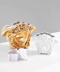 Versace Medusa Gala Plate, Cup & Saucer - Home Collection Gianni Versace House, Versace Home, Versace Fashion, Women's Fashion, Versace Furniture, Homeware Uk, Versace Eyewear, Frosted Glass Door, Bath Linens