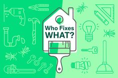 Who Fixes What? When To Call Your Landlord For Repairs Income Property, Investment Property, Rental Property, Real Estate Business, Real Estate Investing, Renting Decorating, Real Estate Rentals, Rental Space, Being A Landlord
