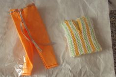 Handmade Barbie Doll Clothes.... TWO OUTFITS..........1282 and 1235 (box 5) £4.00