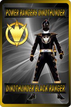 DinoThunder Black Ranger by rangeranime on @DeviantArt