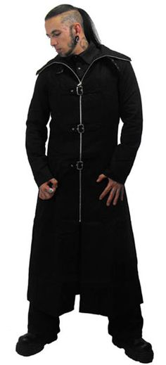 Highwayman Coat - Gothic, industrial, steam punk coats... Men that wear these,hottness!