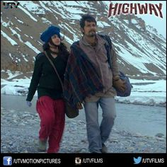 Over the freezing ice and through the blistering fires, love will follow you till the end. 2 days for #Highway to hit the theatres!