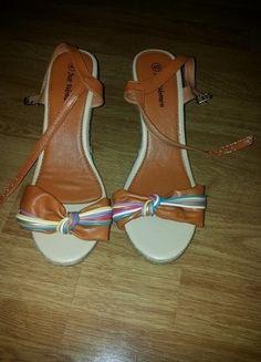 Kup mój przedmiot na #vintedpl http://www.vinted.pl/damskie-obuwie/sandaly/13761309-sandaly-na-koturnie-nowe