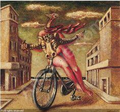 Arte e bici-Alberto Savinio