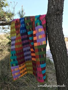 something rosemade: Kaffe Fassett Stripe Quilt: Another Ernie Quilt Finally Finished