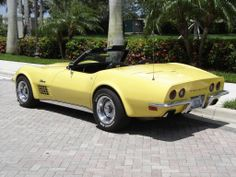 1970 Chevrolet Corvette LS5 - 454 Convertible Old Corvette, Classic Corvette, Chevrolet Corvette Stingray, Ford Shelby, Ford Gt, Rat Rods, Thing 1, Cabriolet, Convertible