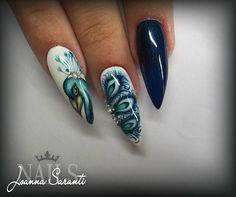 #handpainted #handpaintednailart #nailart #nailstagram #instanails #nails2inspire #nailporn #nails2016 #ioannasaranti #ilovenails #nails