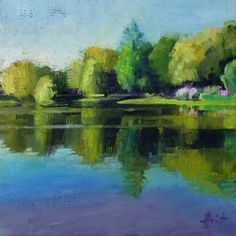 The Other Side, painting by artist Liza Hirst
