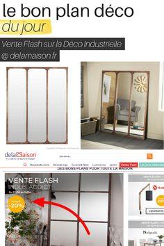 Vente Flash sur la Déco Industrielle @ delamaison  http://www.homelisty.com/vente-flash-deco-industrielle-delamaison/