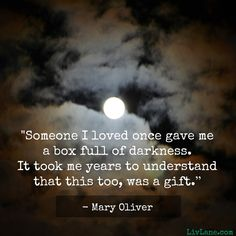 Love these wise words from Mary Oliver.