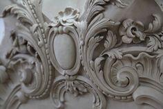 Detail shot of a center motif. Work by Foster Reeve & Associates