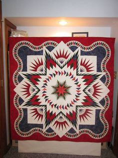 This quilt received a Viewer's Choice ribbon at the Wiltwyck Quilters Guild Show.
