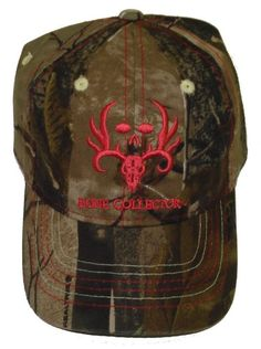 Amazon.com: Bone Collector Ladies Pink Antler Skull and Camo Cap Deer Hunting Hat: Clothing
