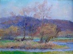 Marie Howet:  Landscape in Chassepière