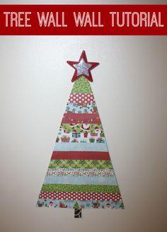 Christmas Tree Wall Tutorial
