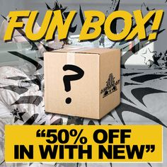 """**AIRSPLAT FUN BOX!** Visit AirSplat HQ, say the phrase """"50% OFF IN WITH NEW"""" to the cashier, and grab any FREE prize from the AirSplat Fun Box! Valid through this weekend only! (April 13-19, 2015)  3809 Durbin St., Irwindale, CA 91706 http://blog.airsplat.com/2014/10/airsplats-fun-box-get-random-prizes.html  #airsoft #airsplat #airsplathq #airsplatla #losangeles #irwindale #la #funbox #airsplatfunbox #airsoftinternational #worldairsoft #fun #50off #inwithnew #new #outwiththeold…"""