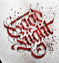 Gothic Lettering, Graffiti Lettering Fonts, Creative Lettering, Script Lettering, Typography Letters, Lettering Design, Calligraphy Drawing, Calligraphy Words, Calligraphy Alphabet