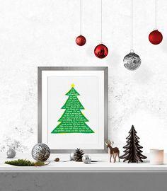 Wanddeko - Weihnacht
