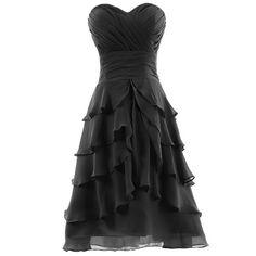 Dresstells Sweetheart Knee-length Chiffon Prom Dress Short Bridesmaid Party Evening Gown for Juniors Under 200 Plus Size 24W Black Dresstells,http://www.amazon.com/dp/B00DF12PPE/ref=cm_sw_r_pi_dp_D0vgsb0MHGXEPA3Q