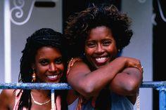 Portrait of two women, Mauritius