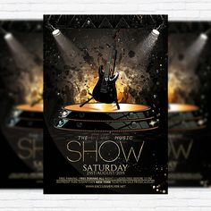The Live Music Show - Premium Flyer Template + Facebook Cover http://exclusiveflyer.net/product/the-live-music-show-premium-flyer-template-facebook-cover/