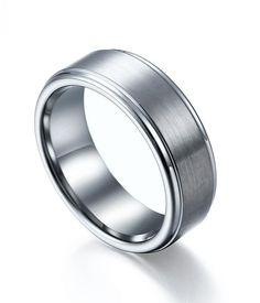 Custom Tungsten Wedding Bands