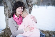 mother daughter photo session #photography #winter