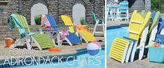 Folding Adirondack Chairs!