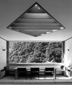 Livio Vacchini - Rezzonico house renovation, Vogorno 1985.
