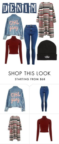 """Untitled #53"" by sara-b-andersson ❤ liked on Polyvore featuring High Heels Suicide, Topshop, A.L.C. and Vans"