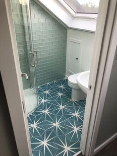 Ca-Pietra-Cement-Encaustic-Lily-Pad-Pattern-Floor-Tiles-Marine-x34