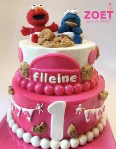 Elmo Cake, Birthday Cake, Cupcakes, Cookies, Desserts, Biscuits, Birthday Cakes, Cupcake, Deserts